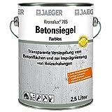 Jaeger Kronalux Betonsiegel, zur Imprägnierung und Versiegelung, farblos 2,5Liter