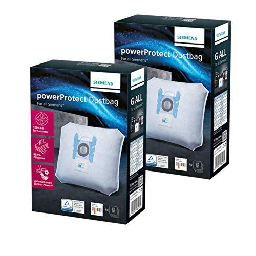 8 Staubsaugerbeutel kompatibel mit Swirl S67 geeignet für Bosch BGL 8334