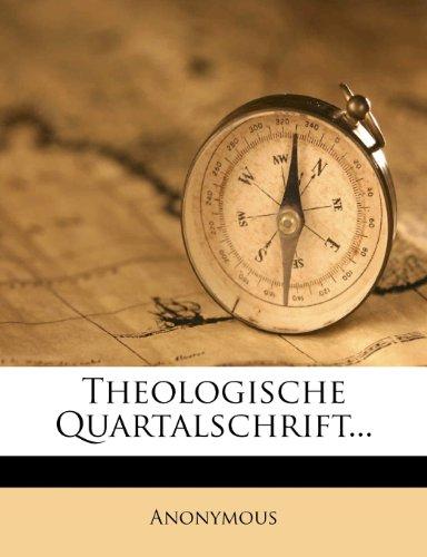 Theologische Quartalschrift, fuenfzigster Jahrgang