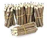 Thai Tree Branch Twig Pencil Bundle - Extra Small Size - Black Only - Multipack of 5 Bundles