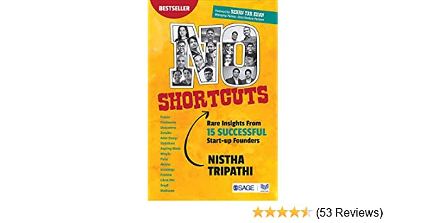 Buy No Shortcuts: Rare Insights from 15 Successful Start-up