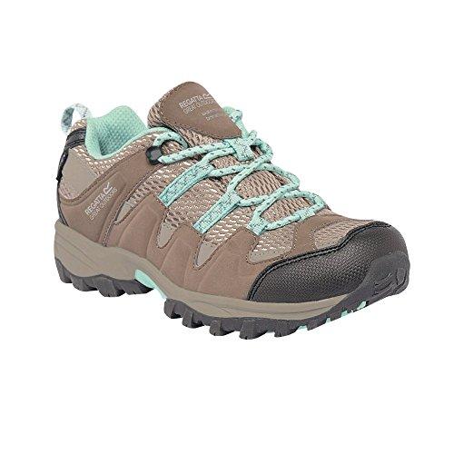 Regatta Garsdale Low Jnr, Chaussures de Randonnée Basses garçon Taupe