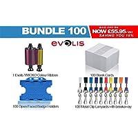 Evolis Premium 100ID Card pacchetto ideale per scuola, università, o lavoro