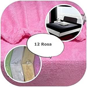 drap housse avec lastique ponge 70x140 und 70x160 23 farben 70x160 rose cuisine. Black Bedroom Furniture Sets. Home Design Ideas