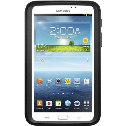 OtterBox Defender Series Schutzhülle für Samsung Galaxy Tab 3, schwarz (Otterbox Tab Galaxy Samsung 3)