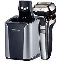 Panasonic Germania ES lv9q S803Premium rasoio con ultraflexiblem 5d della testina, Rasoio elettrico per uomo, umido e secco Rasatura delicata, con stazione di pulizia, Argento