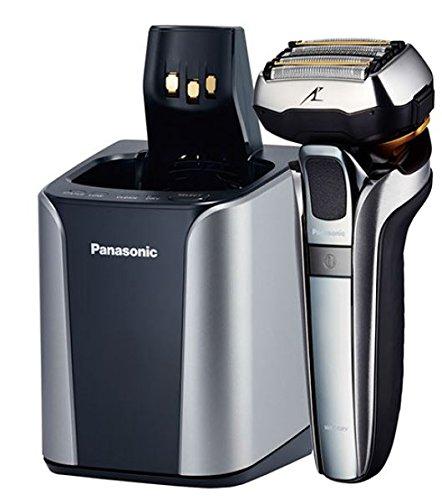 Panasonic Premium Rasierer ES-LV9Q-S803 mit ultraflexiblem 5D-Scherkopf, schonende Nass- und Trockenrasur, mit Reinigungsstation