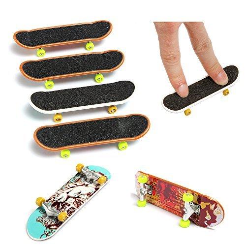 Kungfu Mall 5pcs Finger Spielzeug Mini Skateboard Kinder Spielen Spielzeug (Spielzeug Mini Skateboard)