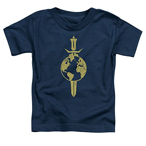 Star Trek - - Terran Empire T-Shirt für Kleinkinder, 4T, Navy