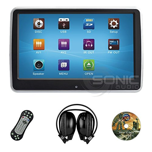 Sonic Audio ® HR-10CT - Universal Touch-Screen 10.1