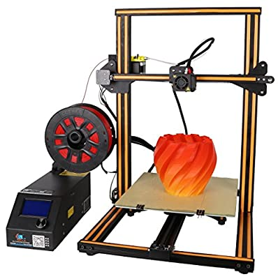 Creality CR-10S 3D Printer Aluminum With Upgraded Dual Leading Screw Heated Bed High-precisio Free Testing Filament+Free Tool Set