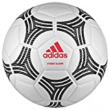 adidas Tango Street Glider Ballon de Football Mixte Adulte, White/Black/Real Coral, 5