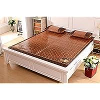 Preisvergleich für Coole Matratze Mats1.8m Bett Doppelseitig faltende Bambusmatte 1,5 Meter Sommer Bambus Matte Matte Coole Bambusmatte (größe : 1.5m*1.95m)