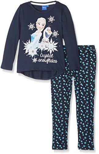 Disney Frozen Girl's Frozen Crystal Snowflakes Pyjama Set