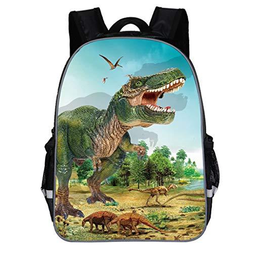 Amycute Mochilas Dinosaurio Jurassic World, 3D Mochila Escuela de Dinosaurios Mochila Escolar niño...
