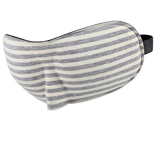 Jueven Máscara de Ojos 3D Stereo Sleep Siesta Blackout Máscara de Ojos Linda Transpirable (Dando Tapones para los Oídos) (Color : C)