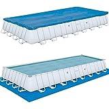 Bestway Swimming Pool ~ 10m mit Stahlrahmen 956x448x132 -