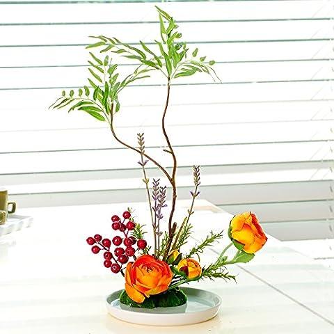 Fiori artificiali ShiQi vero tocco di fiori finti imperiale ornamenti floreali Festival Home Giardino decorazioni per matrimoni Plumeria