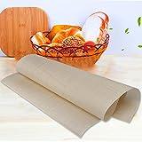 Hrph Reutilizables de tela de fibra de vidrio antiadherente Mat multifuncional barbacoa Mat antiadherente Bandeja de horno 60 * 40cm