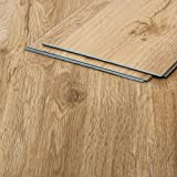 Vinylboden Natureiche 203 braun Klicksystem Holzstruktur 4,5mm Vinyl Bodenbelag fürs Bad TAMI