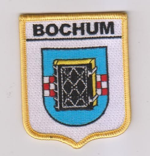 Emblems-Gifts Bochum Wappen Flagge Germany World Bestickt Patch Badge -