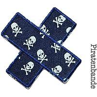 Hosenflicken Hosenpflaster Piraten Jeansflicken zum aufbügeln