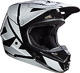 Fox Black 2017 V1 Race MX Helmet