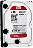 WD Red 2TB NAS Desktop Hard Disk Drive - Intellipower SATA 6 Gb/s 64MB Cache 3.5 Inch