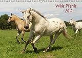 Wilde Pferde (Wandkalender 2014 DIN A3 quer): zauberhafte Wesen begleiten uns durch das Jahr (Monatskalender, 14 Seiten)
