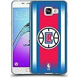 Officiel NBA Gradient De Demi-Teinte Los Angeles Clippers Étui Coque en Gel molle pour Samsung Galaxy A5 (2016)