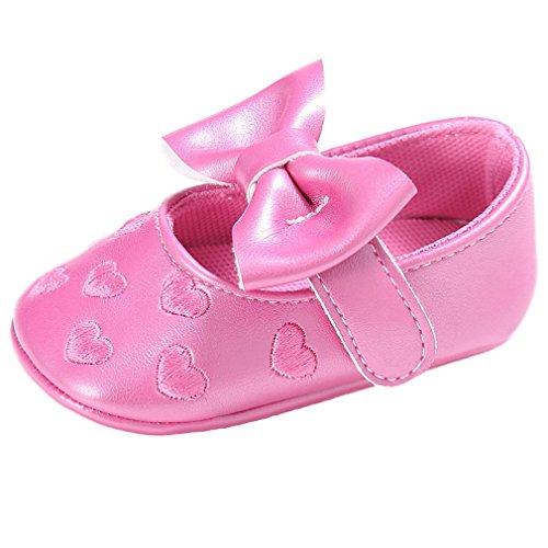 wyhweilong Zapatilla De Deporte Linda De La Lona del Bebé Zapato Suave Antideslizante Zapato 0-18M (L: 12-18 Meses, Deep Sea)