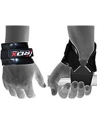 RDX Weight Lifting Gym Reverse Hook Straps Crossfit Wrist Wraps Bodybuilding Training Workout