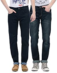 Monte Carlo Men Casual Jeans(_8907679807300_Dark Blue_32_)