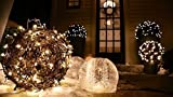 Proxima Direct 100/200/300/400/500 LED String Fairy Lights for Christmas Tree Party Wedding Events Garden (8 Lighting Modes, memory function) - Top Quality (Warm White, 100 LED) Bild 9