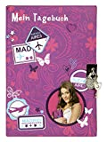 Undercover VIST2130 - Tagebuch A5 mit Schloss, violet