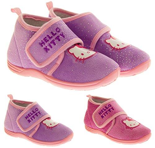Hello Kitty Bottes Filles Cheville Slipper