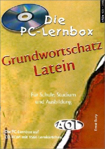 Aol-Verlag in der Aap Lehrerfachverlage Gmbh Grundwortschatz Latein, 1 CD-ROM Für Schule, Ausbildung und Beruf. Für Windows 95/98 oder 2000. CD-ROM m. 1.566 Lernktn.