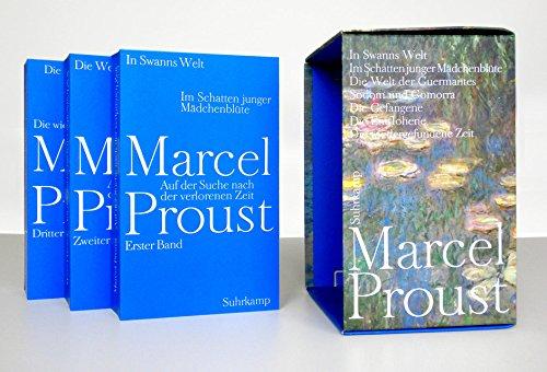Auf der Suche nach der verlorenen Zeit. 3 Bände
