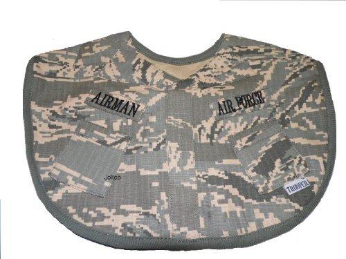 Trooper Camo (Trooper Clothing Infant Boy's ABU Air Force Bib (Camo))