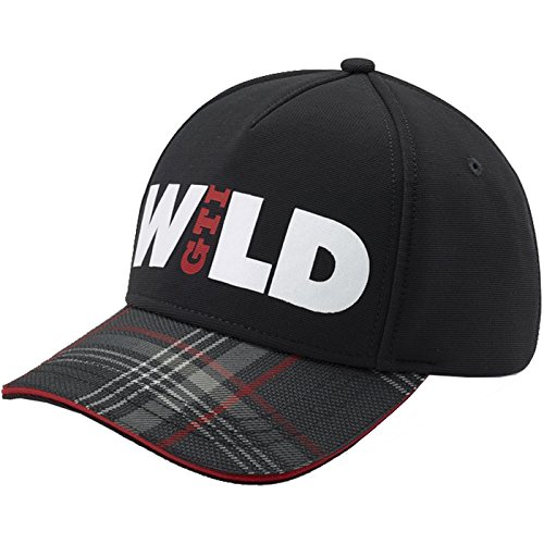 Volkswagen 5GB084300A Kappe GTI Wild Basecap Baseballcap, schwarz