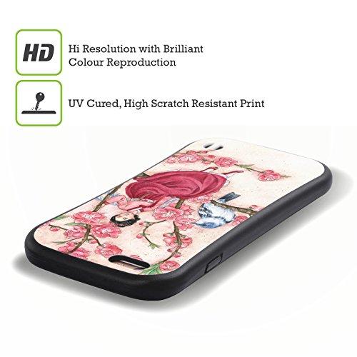 Ufficiale Meredith Dillman Gotico Fate 2 Case Ibrida per Apple iPhone 6 / 6s Boccioli Di Pesca