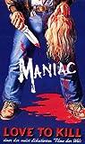 Maniac [Alemania] [VHS]