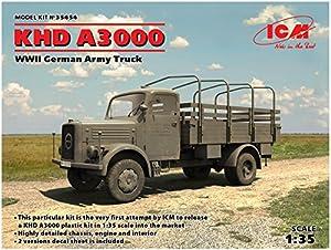 ICM 35454 KHD A3000 - Maqueta de camión WWII German, Color Gris
