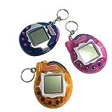Vovotrade ✿✿ Heiß !1 PC 90S Nostalgische 49 Haustiere in einem virtuellen Cyber Haustier Spielzeug Lustige Tamagotchi Geschenk Schlüsselanhänger