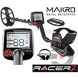 Makro Racer II Metalldetektor mit 5Einstellungen
