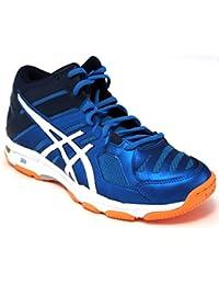 Asics Gel Volley-Zapatillas para hombre Beyond B600N-Mt-5-Jewel/4301 Blue/orange-White Hot 43,5
