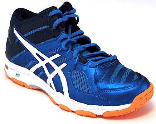 Asics Asics Volleyballschuhe für Herren, Gelsohle, Artikel B600N 4301, Farbe Blau, mehrfarbig - blau - Größe: 10