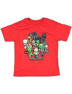 Minecraft parte niños camiseta 4–18