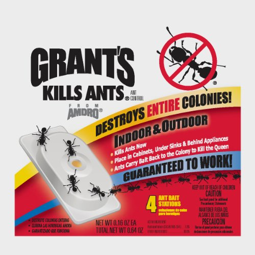 Excel Central Garden 100508684 Ant Control Stake-4PK ANT CONTROL BAIT