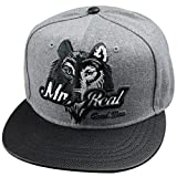 Belsen neutral Wolf Kopf Hip-Hop Cap Baseball Kappe Hut Truckers Hat (Kind)
